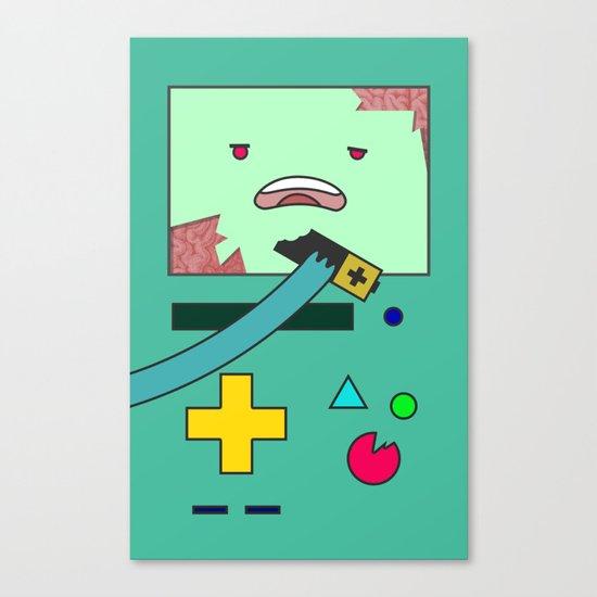 Zom-BMO Canvas Print