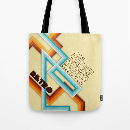 Retro Meaning Tote Bag