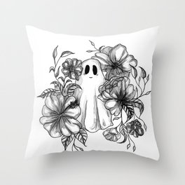 Happy Death Throw Pillow