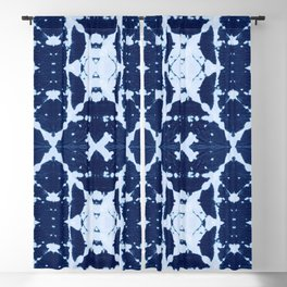 X Cloth Shibori Blackout Curtain