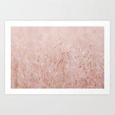 Pastel Nature Art Print