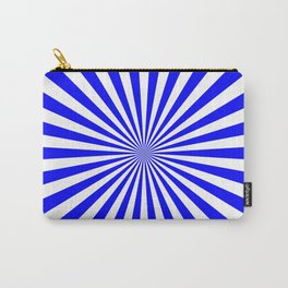Starburst (Blue/White) Carry-All Pouch