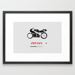 FZR400 Framed Art Print