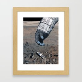 Man of the Moon Framed Art Print