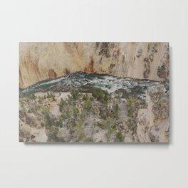 The River Below Metal Print