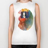 lucy Biker Tanks featuring Lucy by Ecsentrik