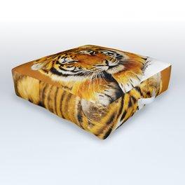 Siberian Tiger Outdoor Floor Cushion