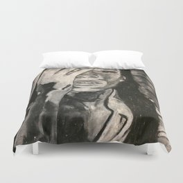 Embracing Your Body Duvet Cover