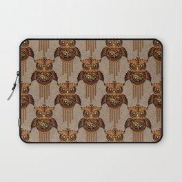 Steampunk Owl Vintage Style Laptop Sleeve