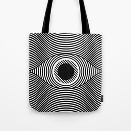 Moire Eye Tote Bag