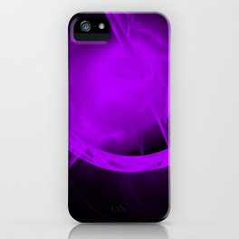 Ultra-violet gateway to a distant place iPhone Case