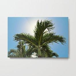 Sunshine State of Mind- horizontal Metal Print