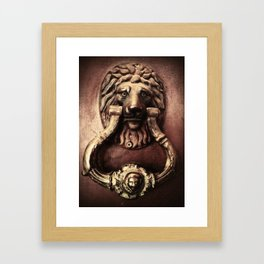 Guardian Of  The Door  Framed Art Print