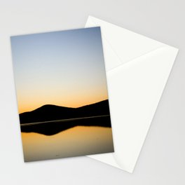Mountain Reflection Stationery Cards