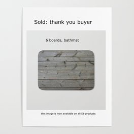 sold, 6 boards Poster