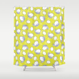 Limes and Lemons Shower Curtain
