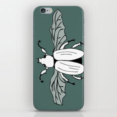 It's a beetle and it has wings. iPhone & iPod Skin