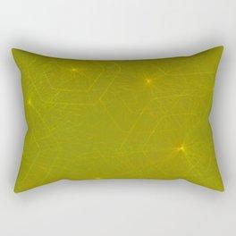 Fireflies and Filaments Rectangular Pillow