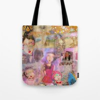 klimt Tote Bags featuring Klimt by sara aguiar