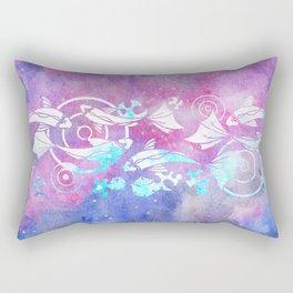 Galactic Goldfish Rectangular Pillow