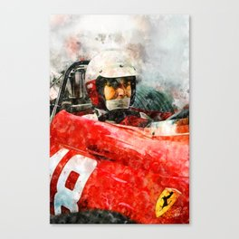 Lorenzo Bandini Close Canvas Print