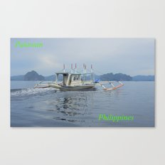 Palawan Island Philippines Canvas Print