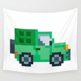 Pixel Jepp Wall Tapestry