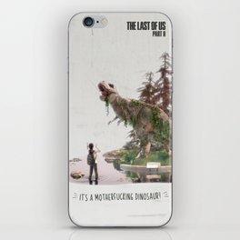 Ellie's birthday - The Last of Us Part II - Fan art iPhone Skin