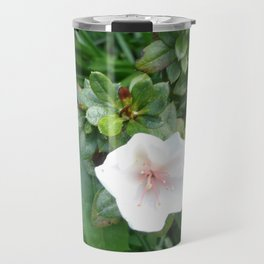 soft pink flower Travel Mug