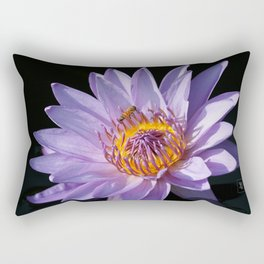 Evening Nymphaea Rectangular Pillow