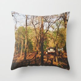 Crickets Chime House Throw Pillow