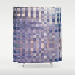 Checkerboard Sky Shower Curtain