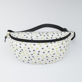 abstract seeds on a white background Fanny Pack