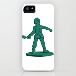Army Grenadier Toy Soldier iPhone Case