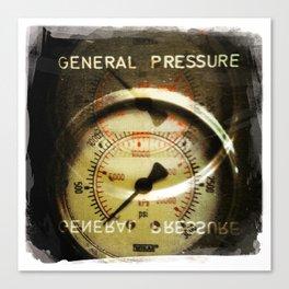 general pressure Canvas Print