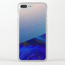 Sapphire and Steel Impressions Clear iPhone Case