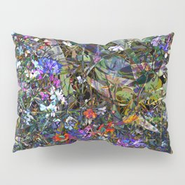 Early Autumn Wildflowers Pillow Sham