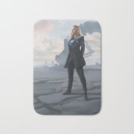 To War: Clarke Griffin Bath Mat