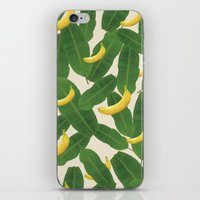 banana iPhone & iPod Skins featuring banana by aisyrahma