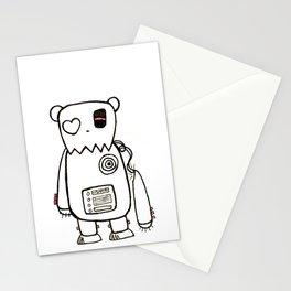 robo bear Stationery Cards