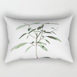Avocado Tree Rectangular Pillow