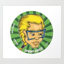 Super Cool - Spoony-Breeze Art Print