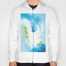 Abstract painting Hoody