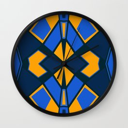 Geometric #732 Wall Clock
