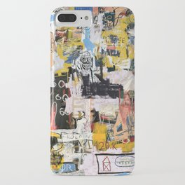 Basquiat World iPhone Case