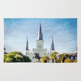 Jackson Square New Orleans Rug