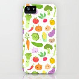 Happy Veggies iPhone Case