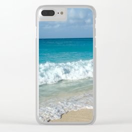 Quiet Beach in the USVI (St. John) Clear iPhone Case
