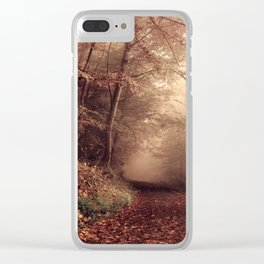 Forest path 2 Clear iPhone Case