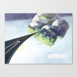 Green Plant - F-Zero GP Canvas Print